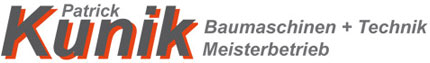 Kunik Baumaschinen Logo