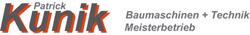Kunik Baumaschinen Logo