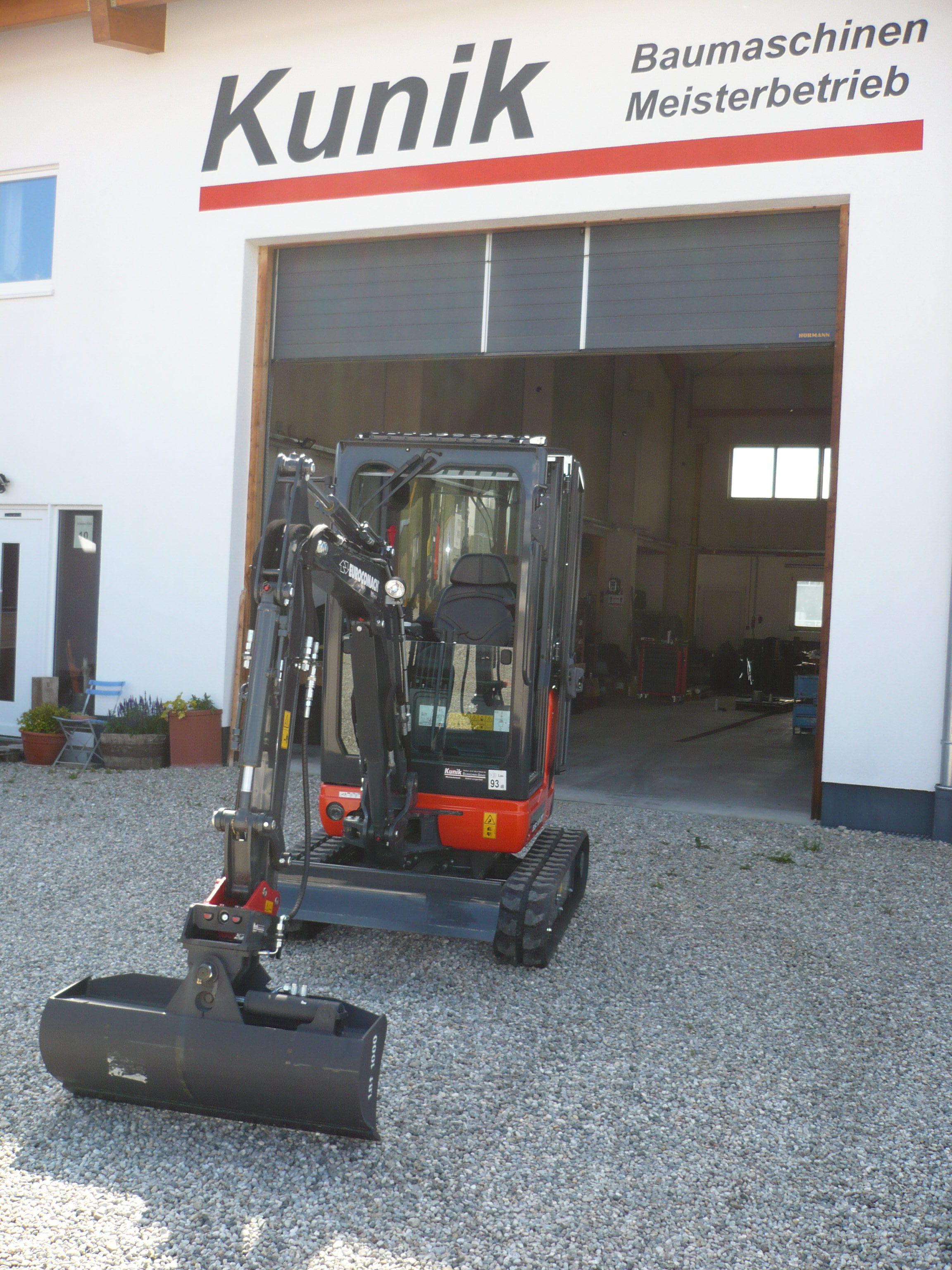 Midibagger Eurocomach ES85ZT